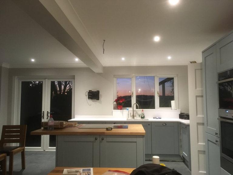 basingstoke kitchen fitting units in dove grey