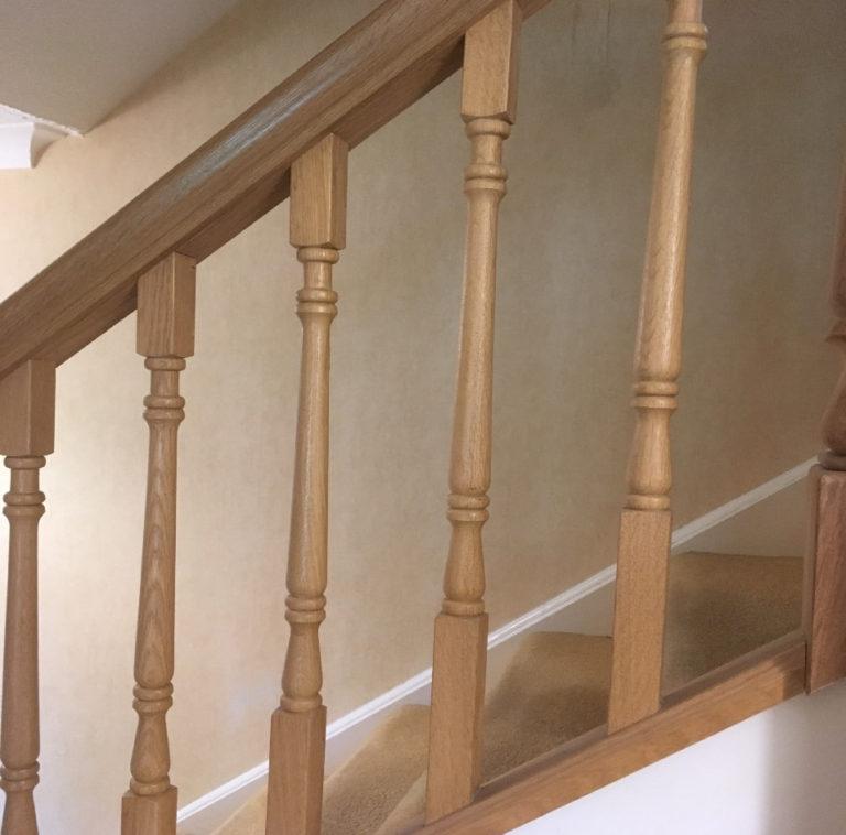 wooden spindels david matthews carpentry and joinery basingstoke