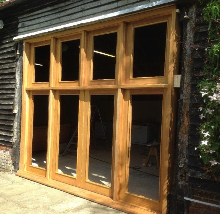 bespoke wooden window frames david matthews carpentry and joinery basingstoke