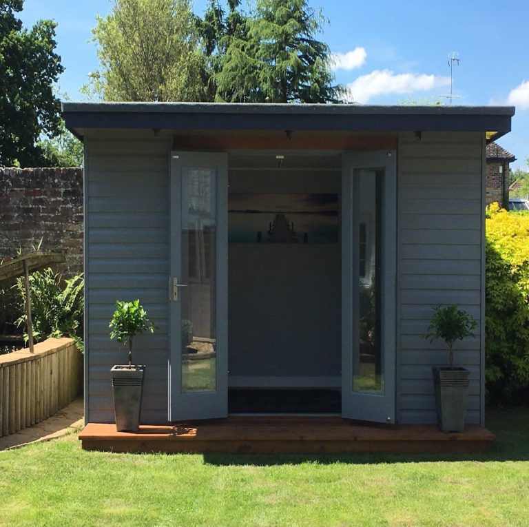 garden summerhouse david matthews carpentry and joinery basingstoke