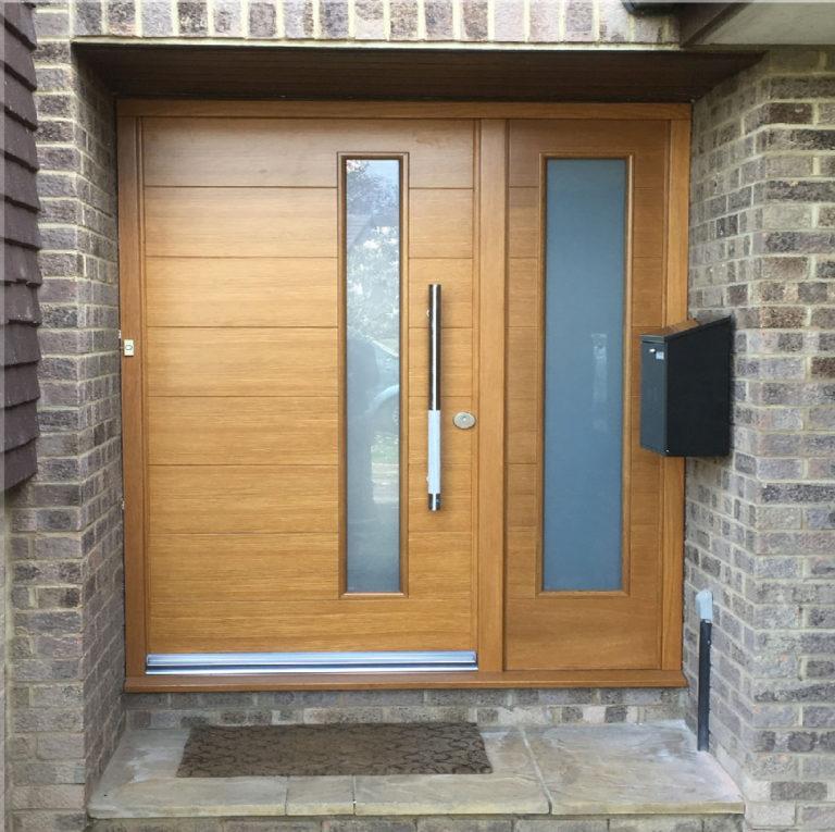 bespoke front door david matthews carpentry and joinery basingstoke