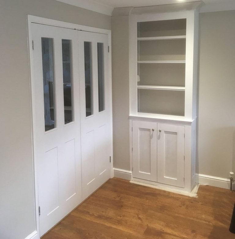 bespoke inbuilt cupboards david matthews carpentry and joinery basingstoke